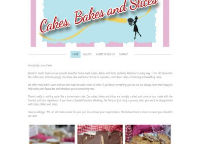 Cakes Bakes and Slices