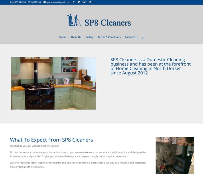 SP8 Cleaners